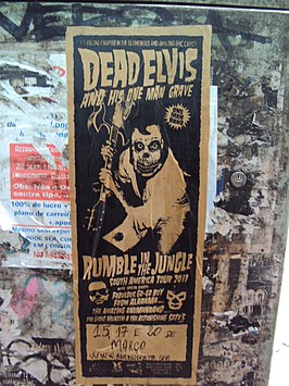 Dead Elvis Flyer