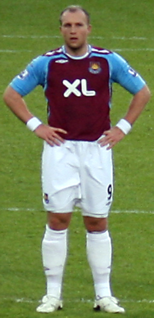 Dean Ashton - Ashton playing for West Ham United in 2007