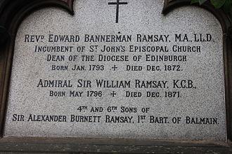 Edward Ramsay - Dean Ramsay's grave, St Johns