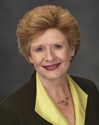 United States congressional delegations from Michigan - Senator Debbie Stabenow (D)