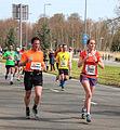 Deelnemers hebben duidelijke namen marathon Rotterdam 2015.jpg
