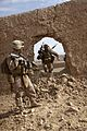 Defense.gov News Photo 110113-M-3952S-028 - U.S. Marine Corps 1st Lt. Daniel Barbeau a platoon commander and Cpl. Vincent O Brian an assault man with 2nd Platoon Lima Company 3rd.jpg