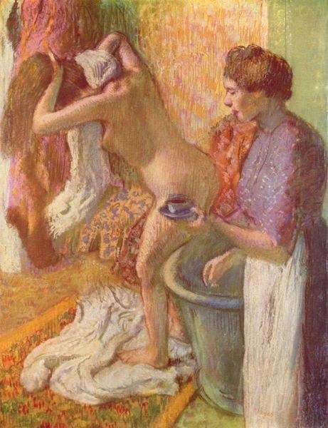 Degas Nach dem Bade