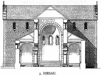 Hirsau Abbey - Image: Dehio I 56 Hirsau Section