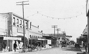 Del Rio, Texas - Main Street, circa 1910-1930