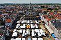 Delft Blick von der Nieuwe Kerk auf den Marktplatz 3.jpg
