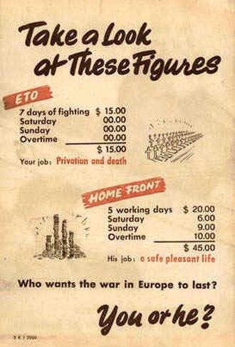 Demoralization (warfare) - Back of leaflet
