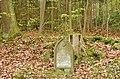 Denkmal für Gottlieb Friedr. Erhardt, g.d. 15. Aug. 1868, Denkmal für Gottlieg Friedr. Erhardt, Fuhrmann v. Böblingen mußte hier sein Leben lassen unter d. Rad s. Wagens. O Fuhrleut denkat an diesen Stein, wie schne - panoramio.jpg
