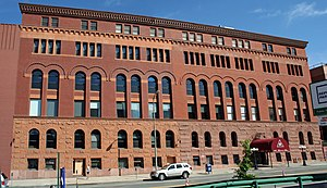 Denver Athletic Club - The property in 2009.