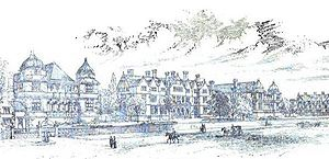 London Road Community Hospital - Image: Derby Royal Infirmary 1891