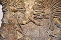 Detail. Assyrian military campaign in southern Iraq, slabs made 640-620 BCE. British Museum in London.jpg