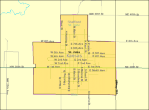 Detailed map of St John, Kansas.png