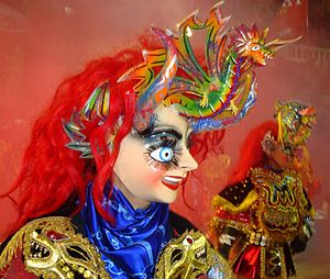 English: Diablada Ferroviaria of Oruro, Bolivi...