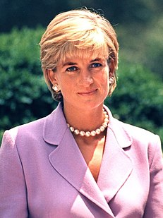 Diana, Princess of Wales Member of the British royal family; first wife of Prince Charles