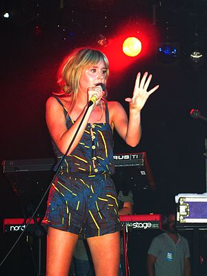 Diana Vickers - Vickers performing live in 2010