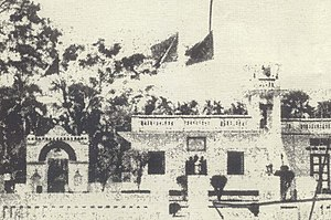 Noakhali riots - The Diara Sharif of Shyampur, the residence of Ghulam Sarwar Husseini.