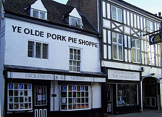 Samworth Brothers - Dickinson and Morris Pie Shop Melton Mowbray