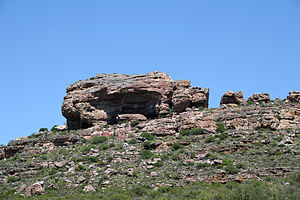 Diepkloof Rock Shelter - Image: Diepkloof general view