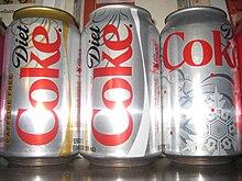 how much sweetener is in diet coke