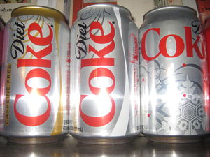 Diet drink -  Diet Coke is the number one selling diet soft drink in the world.