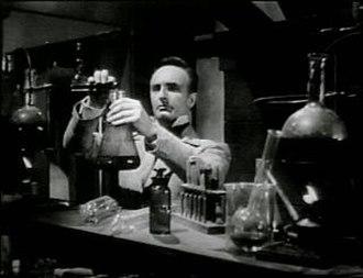 Anton Diffring - Anton Diffring as Baron Frankenstein in Tales of Frankenstein (1958)
