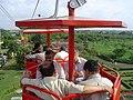 Dignitaries Riding Ropeway - Science City - Kolkata 2006-07-04 04786.JPG