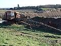 Dilapidated machinery in Warren Hamer Quarry - geograph.org.uk - 291628.jpg