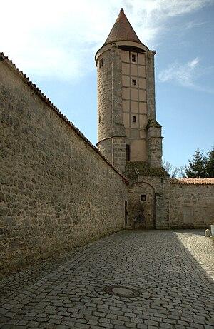 Half tower - Image: Dinkelsbühl 3595