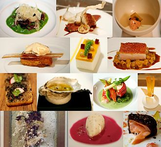 Michelin Guide - Dishes made by Michelin star restaurants