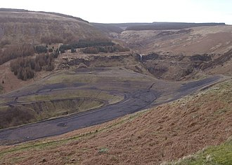 John Crichton-Stuart, 2nd Marquess of Bute - Remains of the Rhigos colliery, once owned by Bute