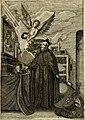 Divo Francisco Borgiæ è Duce Gandiæ tertio, Soc. Jesu generali, à Clemente X Pont. Max. sanctorum clitum fastis ad scripto, Encomia emblemate, prosa, versu in de salvatoris Soc. Iesv ad S. Clementem, (14561853980).jpg