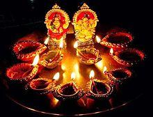 Diwali celebrations by Tamil Hindus in Sri Lanka