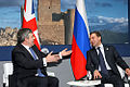 Dmitry Medvedev at the G8 Summit - 9 July 2009-1.jpg