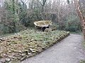 Dolmen exhibit, Irish National Heritage Park - geograph.org.uk - 1252743.jpg