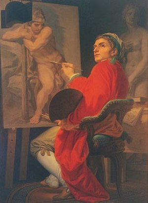 Domenico Corvi -  Self-Portrait, Uffizi