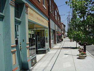 Milford, Ohio - Main Street Milford