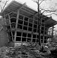 Dr. Charles and Judith Heidelberger House Under Construction, 1951.jpg