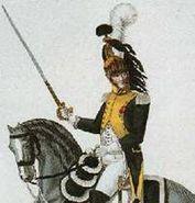 Dragoon of the 21ér Regiment de Dragons