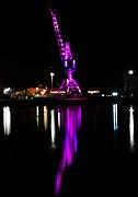 Drammen havn illuminated crane (2).jpg