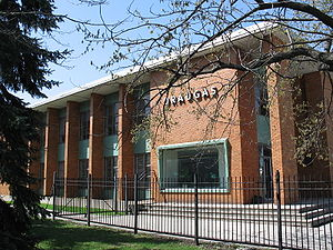 Lithuanians in the Chicago area - Draugas building in Chicago, IL