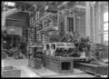 Draw-cut shaper machining, working on two X class cylinders at Hutt Railway Workshops, Woburn, 1930. ATLIB 290264.png