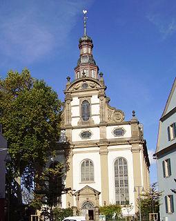 Dreifaltigkeitskirche, Speyer Protestant parish church in Speyer