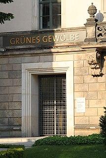 Green Vault Art museum in Dresden, Germany