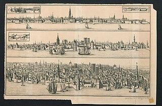 Drie zichten op Antwerpen