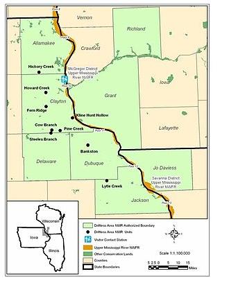 Driftless Area National Wildlife Refuge - Driftless Area National Wildlife Refuge units