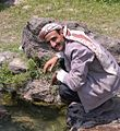 Drinking, Haraz Mountains, Yemen (14643677365).jpg