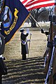 Drum major conducts band at full honors funeral (5470461009).jpg