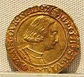 Ducato di milano, gian galeazzo maria sforza e ludovico maria sforza, oro, 1476-1494, 01.JPG