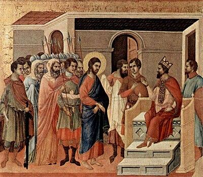 Resultado de imagem para Herodes e Jesus