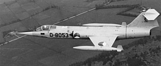Lockheed F-104 Starfighter 1956 fighter aircraft family by Lockheed